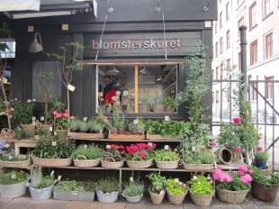 Flower stall Frederiksberg