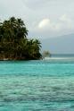 Turquoise waters San Blas