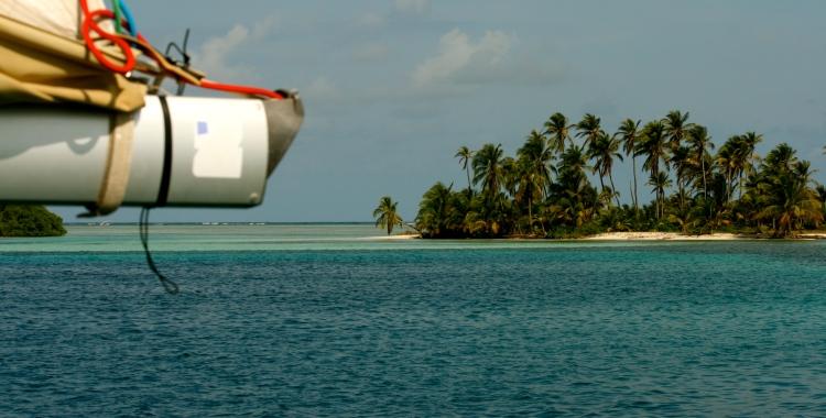 Sailing in San Blas