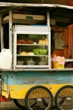 Penang street food vendor