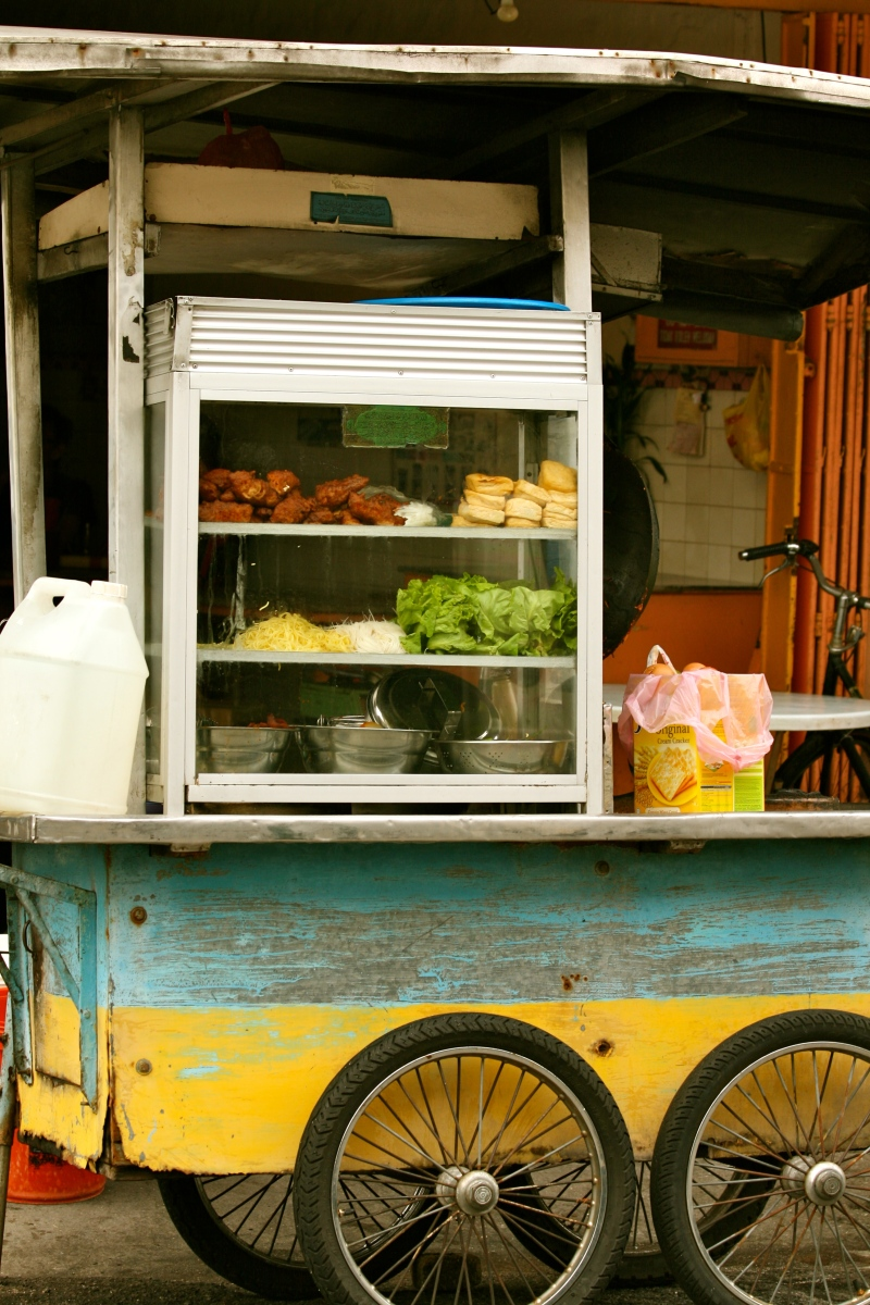 Penang street food vendor