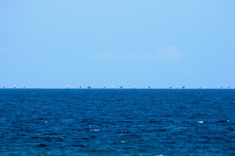 Lombok Horizon Filled With Sails