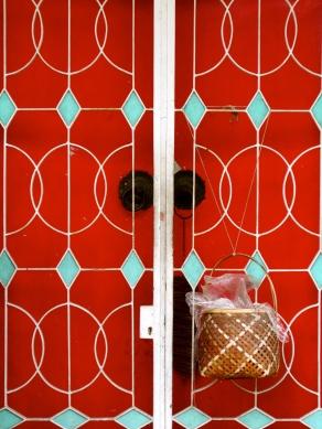 Red door historic Penang