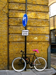 Bicycle in Shoreditch