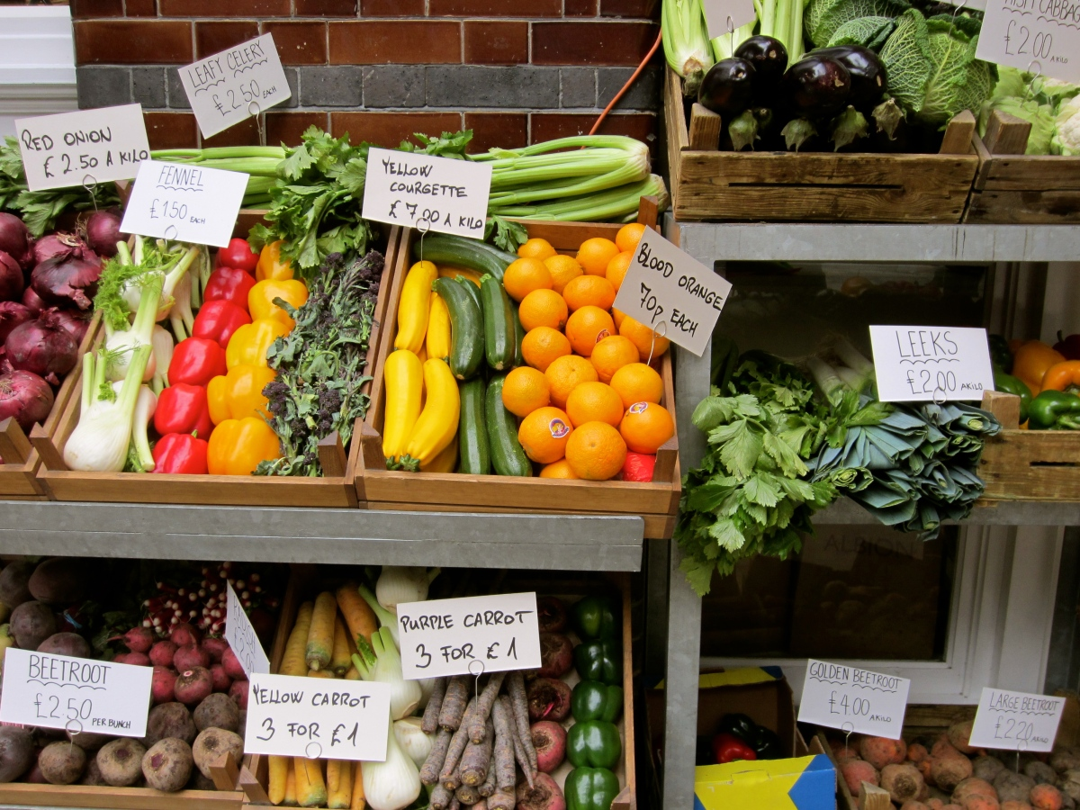 Veggie Stand At Albion