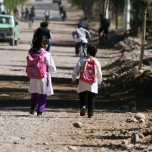Schoolchildren Barreal