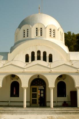 Church Pylos Greece
