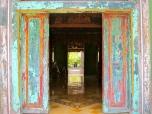 Colorful Antique Door