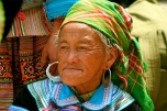 Flower Hmong woman