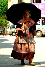 Full length Flower Hmong ethnic dress