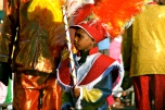 Young Minstrel Carnival performer