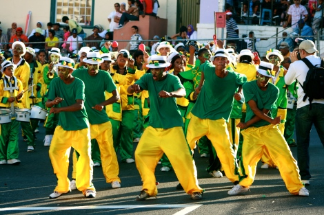 Dance troupe Cape Town Carnival