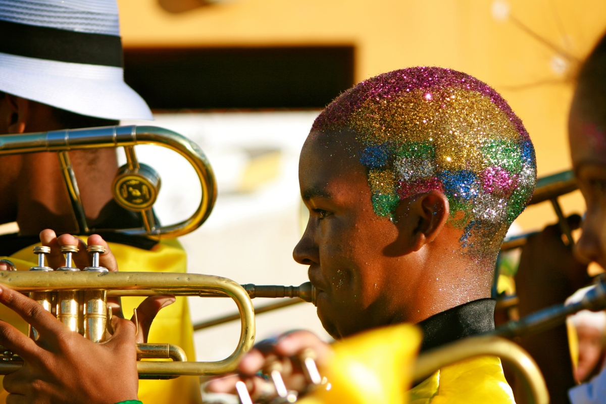 Cape Town brass band